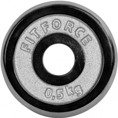 Fitforce PLC 0,5KG 25MM - Nakládací kotouč