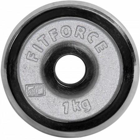 Nakládací kotouč - Fitforce PLC 1KG 25MM