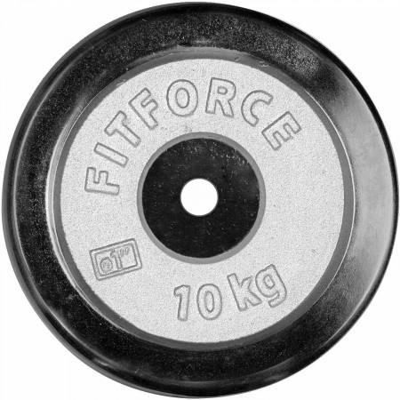 Nakládací kotouč - Fitforce PLC 10KG 25MM