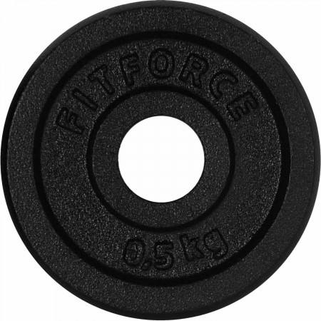 Nakládací kotouč - Fitforce PLB 0,5KG 25MM
