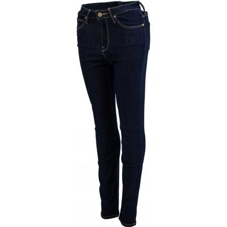 Dámské skinny jeansy - Lee SKYLER SOLID BLUE - 1