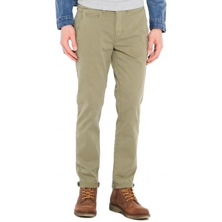 Pánské kalhoty - Wrangler CHINO DUSTY OLIVE - 1