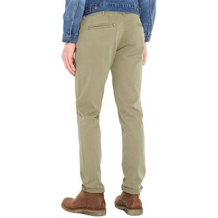 Pánské kalhoty - Wrangler CHINO DUSTY OLIVE - 2