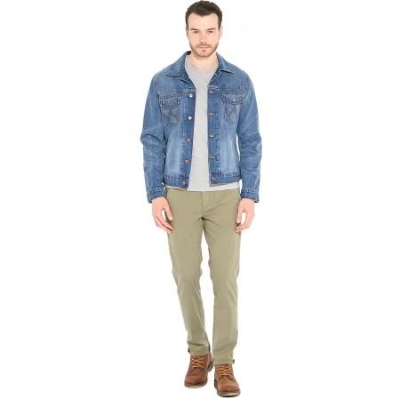 Pánské kalhoty - Wrangler CHINO DUSTY OLIVE - 3