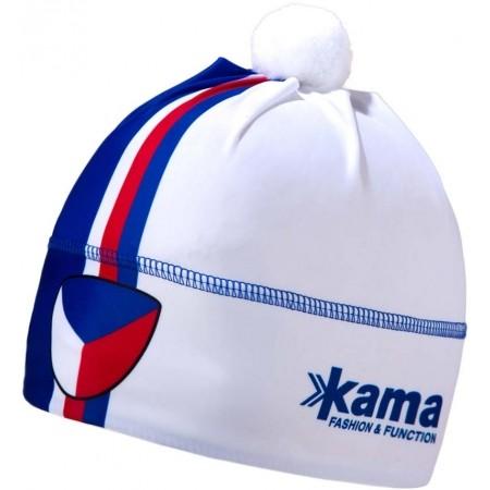 Běžecká čepice - Kama AW57-107 ČEPICE LYCRA TECHNICKÁ CZECH COLORS