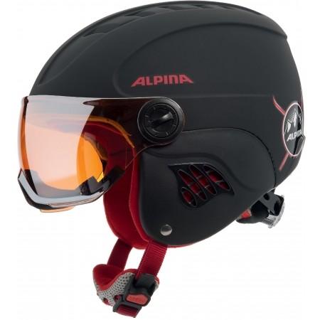 Alpina Sports CARAT LE VISOR HM - Juniorská lyžařská helma