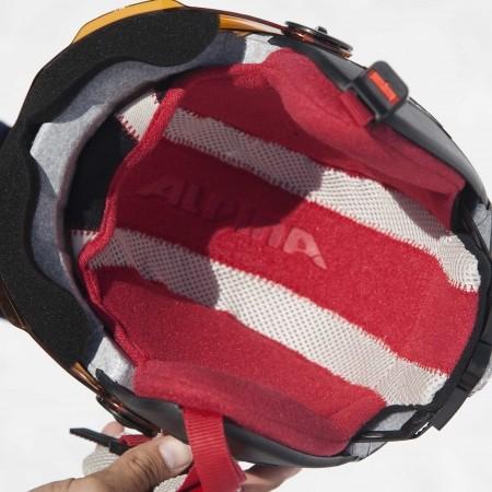 Juniorská lyžařská helma - Alpina Sports CARAT LE VISOR HM - 3