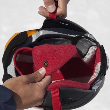 Juniorská lyžařská helma - Alpina Sports CARAT LE VISOR HM - 2