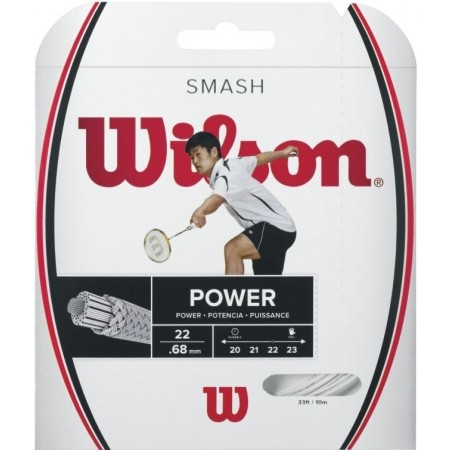 Výplet pro badmintonové rakety - Wilson SMASH 66 WHITE