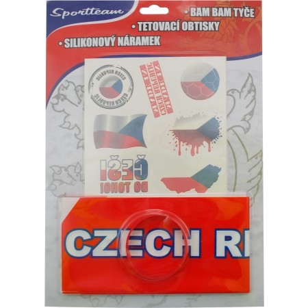 Fanouškovská sada - SPORT TEAM FAN SADA ČR 2