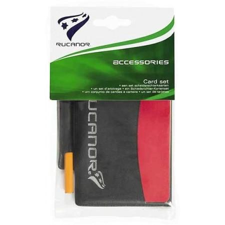 Card set - Karty rozhodčí - Rucanor Card set - 3