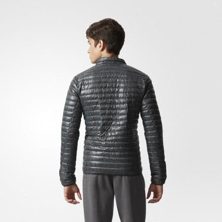 Pánská zimní bunda - adidas SUPER LIGHT DOWN JACKET ALL OVER PRINT - 4