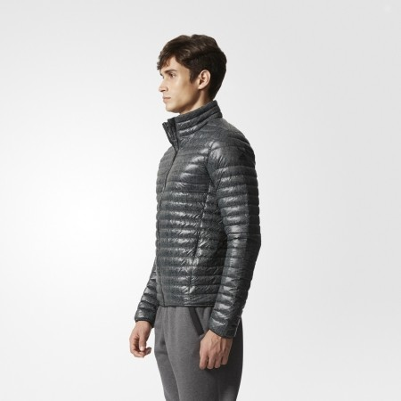 Pánská zimní bunda - adidas SUPER LIGHT DOWN JACKET ALL OVER PRINT - 5