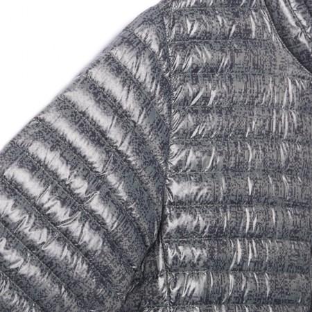 Pánská zimní bunda - adidas SUPER LIGHT DOWN JACKET ALL OVER PRINT - 8