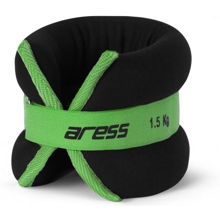 Zátěž na kotníky - Aress ANKLE WEIGHT 2X1,5 KG