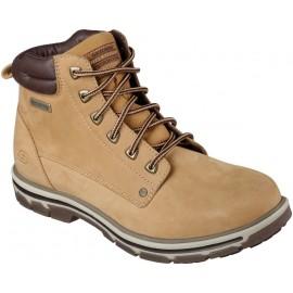 Skechers AMSON - Pánské kotníkové zimní boty