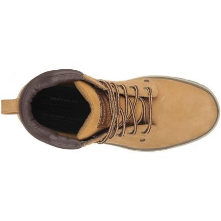Pánské kotníkové zimní boty - Skechers AMSON - 4