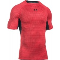 Under Armour HEATGEAR ARMOUR PRINTED SHORTSLEEVE