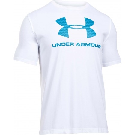 Pánské triko volného střihu - Under Armour SPORTSTYLE LOGO TEE - 1