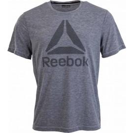 Reebok WORKOUT READY BIG LOGO SUPREMIUM TEE - Pánské triko