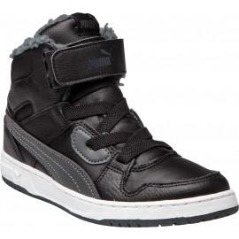 Puma REBOUND STREET WTR PS - Dětské kotníkové zimní boty