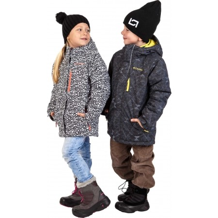 Dívčí zimní bunda - Columbia ALPINE FREE FALL JACKET GIRLS - 6