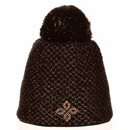 R-JET SPORT FASHION EXLUSIVE ZLATÝ LUREX - Dámská pletená čepice