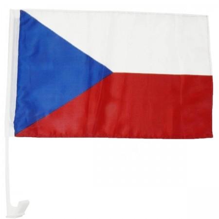 Fan vlajka na auto CZ - Fan vlajka na auto CZ - SPORT TEAM Fan vlajka na auto CZ