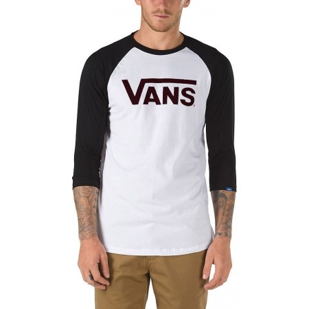 Pánské tričko - Vans CLASSIC RAGLAN - 1