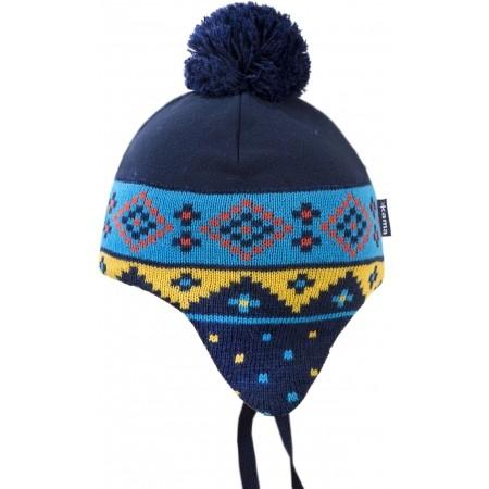 Dětská zimní čepice - Kama ČEPICE MERINO BAMBULE