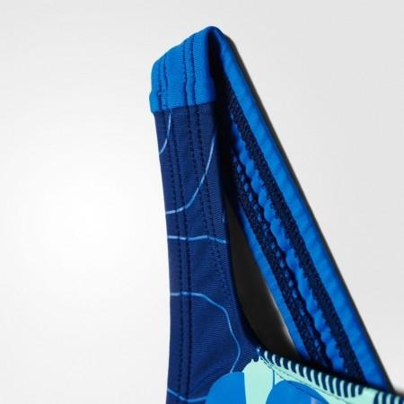 Dívčí jednodílné plavky - adidas BY LINEAGE SUIT - 4