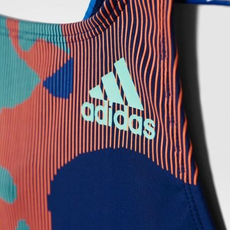 Dívčí jednodílné plavky - adidas BY LINEAGE SUIT - 3