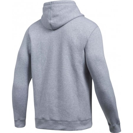 Pánská mikina - Under Armour RIVAL FITTED GRAPHIC HOODIE - 2