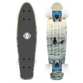 Long Island POINT22 - Plastový mini longboard