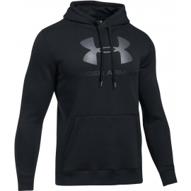 Under Armour RIVAL FITTED GRAPHIC HOODIE - Pánská mikina