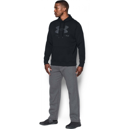 Pánská mikina - Under Armour RIVAL FITTED GRAPHIC HOODIE - 9