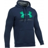 Pánská mikina - Under Armour RIVAL FITTED GRAPHIC HOODIE - 13