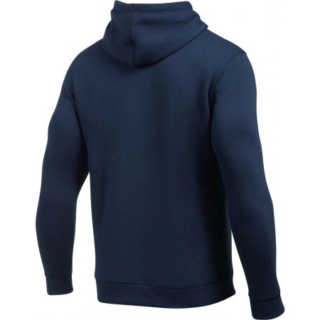 Pánská mikina - Under Armour RIVAL FITTED GRAPHIC HOODIE - 14
