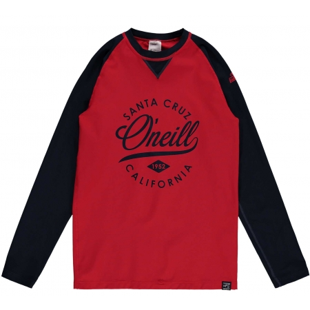 Dětské koupací tričko s UV filtrem - O'Neill PB SURF CRUZ L/SLV SKIN - 1