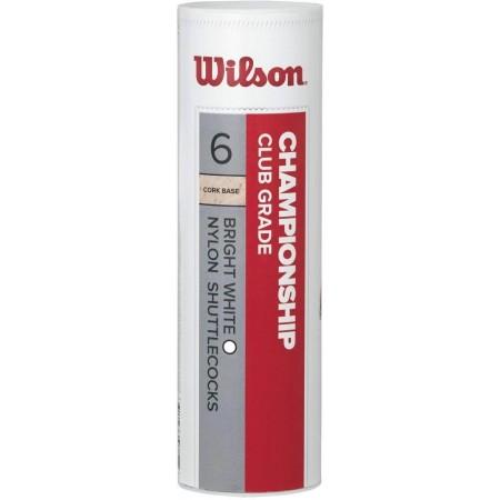 Wilson CHAMPIONSHIP 6ks 78 - Badmintonový míč