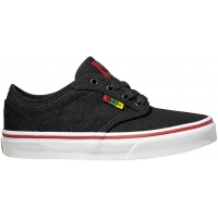 Vans YT ATWOOD Rasta Black/Red