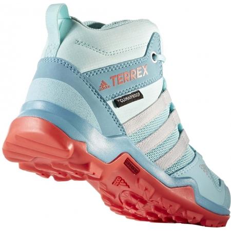 Dětská outdoorová obuv - adidas TERREX AX2R MID CP K - 8