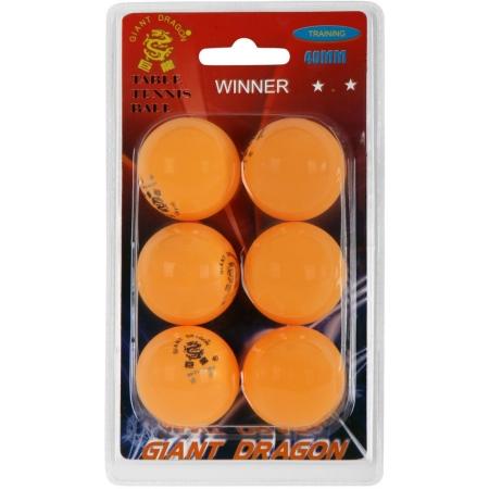 Giant Dragon ORG PI PO MICKY 6PCS - Míčky pro stolní tenis