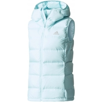 adidas HELIONIC DOWN HOODED VEST
