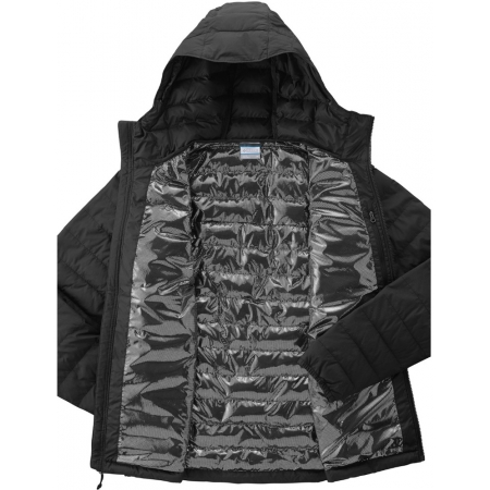 Pánská zimní bunda - Columbia POWDER LITE HOODED JACKET - 4
