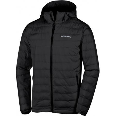 Pánská zimní bunda - Columbia POWDER LITE HOODED JACKET - 1