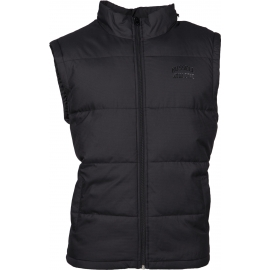 Russell Athletic SLEEVELESS PADDED JACKET WITH CONCEALED HOOD - Páská vesta