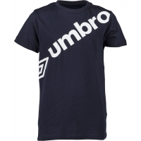 Umbro LINEAR LARGE LOGO GRAPHIC TEE JNR
