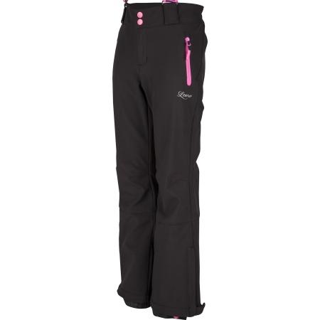 Lewro LONDON 140-170 - Dívčí lyžařské softshellové kalhoty