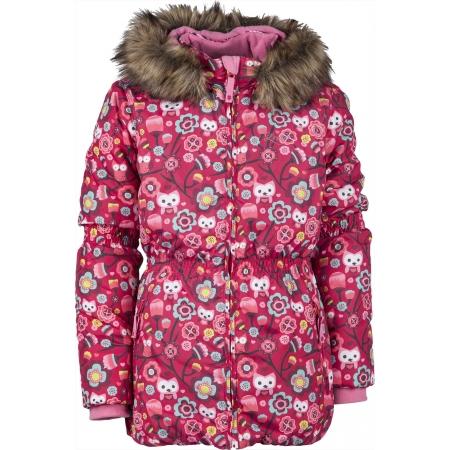 Lewro LAWANDA 140-170 - Dívčí zimní bunda